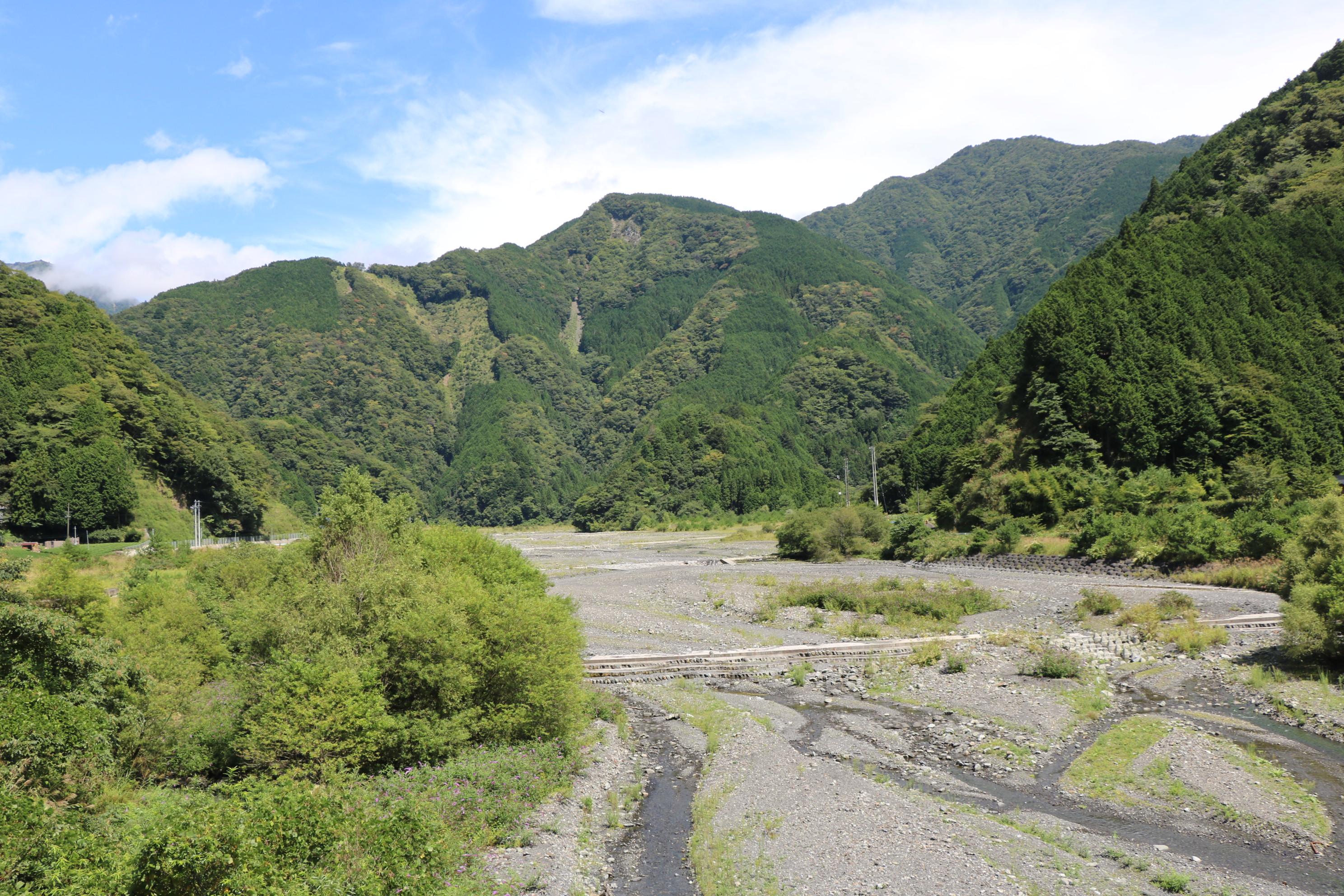 安倍川の景色