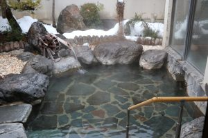 露天風呂もあります