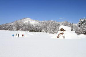 縄文式竪穴式住居を発見